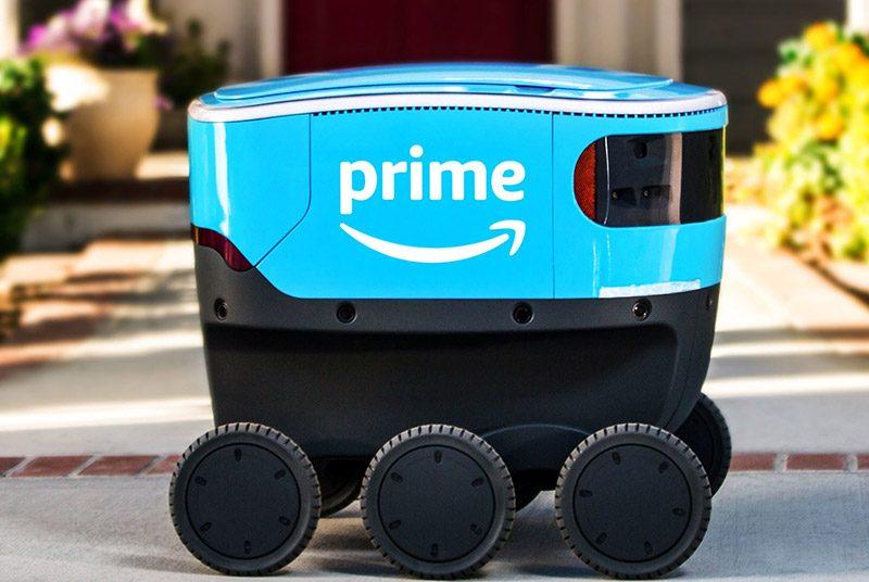 Amazon запустила доставку товаров при помощи роботов-курьеров Amazon запустила доставку товаров при помощи роботов-курьеров