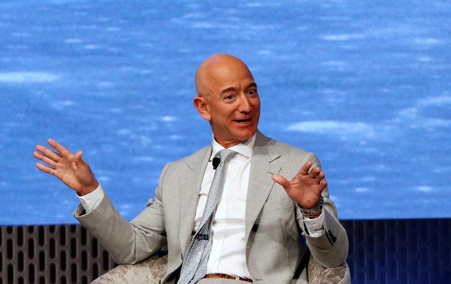 Безос продал акции Amazon на $1,8 млрд